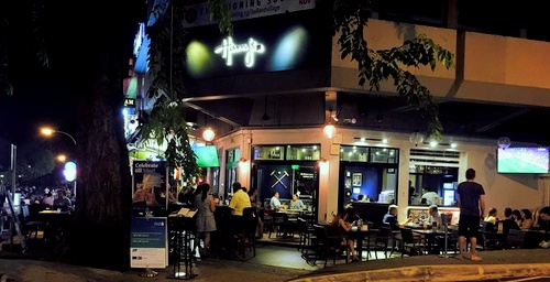 Harry's Bar + Dining restaurant Holland Village Singapore.