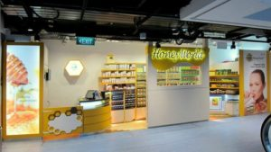 HoneyWorld Health Food Store One Raffles Place Singapore.