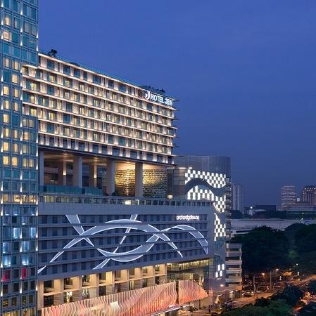 Hotel Jen orchardgateway Singapore.