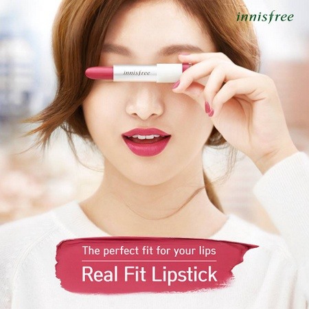 Innisfree Real Fit Lipstick Singapore.