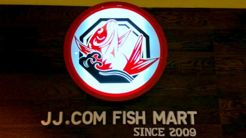 JJ.com Fish Mart Japanese restaurant Clarke Quay Central Singapore.