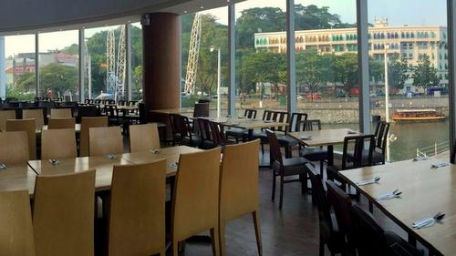 Kublai Khan Mongolian BBQ & International Seafood Buffet Restaurant views Singapore.
