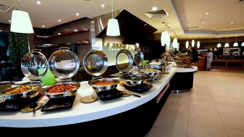 Kublai Khan Mongolian BBQ & International Seafood Buffet Restaurant food Singapore.