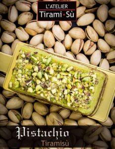 L'Atelier Tiramisu's pistachio tiramisu cake Singapore.