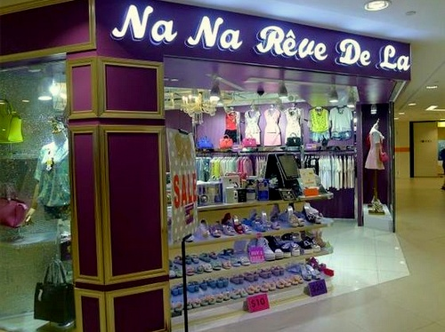 NaNa Rêve De La clothing shop Junction 8 Singapore.