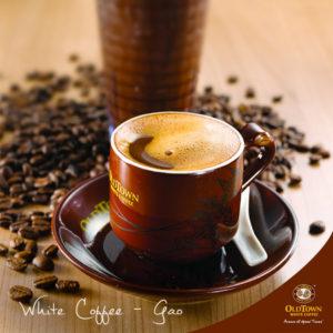 OldTown White Coffee's White Coffee - Gao Singapore.