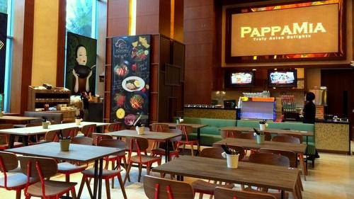 PappaMia restaurant Festival Hotel Resorts World Sentosa Singapore.