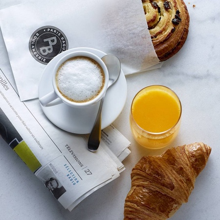 Paris Baquette bakery cafe coffee & pastries Singapore.