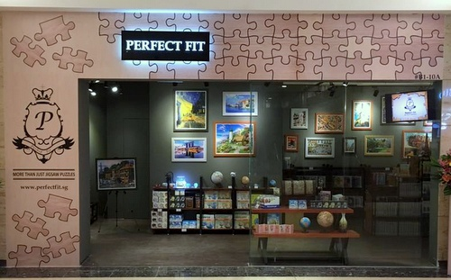 Perfect Fit jigsaw puzzle store Singapore.