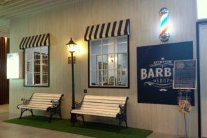 Premium Barbers barbershop Singapore.
