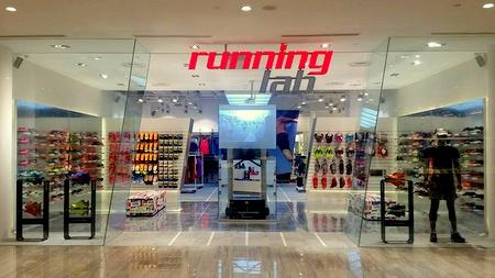 Running Lab shop Marina Square Singapore.