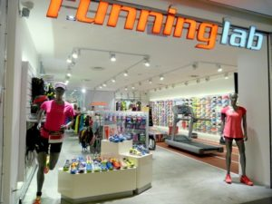 Running Lab shop Velocity @ Novena Square Singapore.
