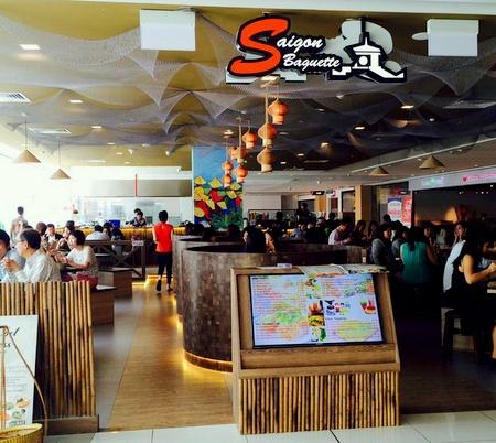 Saigon Baguette Vietnamese restaurant Suntec City Singapore.