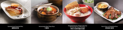 SIFU Hong Kong restaurant's signature meals Singapore.