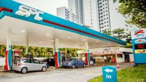SPC gas station Singapore.