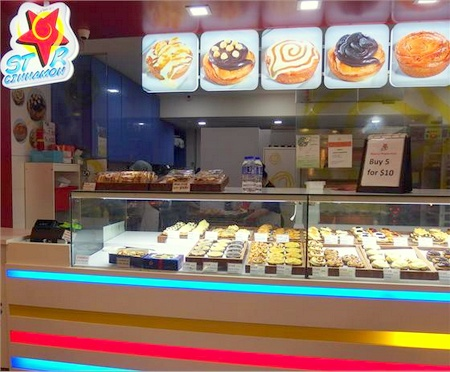 Star Cinnamon bakery shop Bugis Junction Singapore.