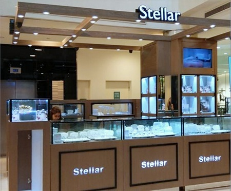 Stellar jewellery store Bugis Junction Singapore.