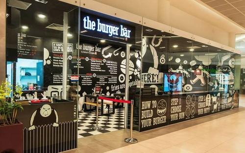 The Burger Bar restaurant Marina Link Singapore.