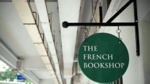 The French Bookshop Singapore.