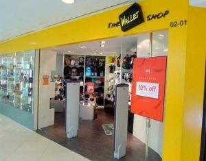 The Wallet Shop Junction 8 Singapore.