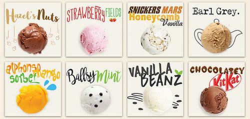 Udders Ice Cream cosmopolitan flavours Singapore.
