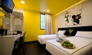 Venue Hotel superior twin room Singapore.