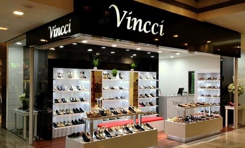 Vincci shoe store Square 2 Singapore.