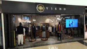 Yishy clothing shop CityLink Mall Singapore.