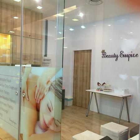Beauty Empire beauty salon Novena Square 2 Singapore.