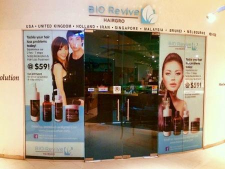 BioRevive HairGro salon Novena Square 2.
