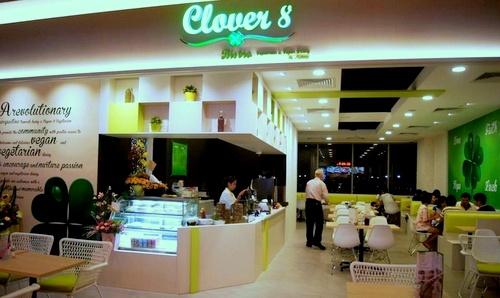 Clover 8 Bistro Vegetarian & Vegan Dining by Miao Yi restaurant Singapore.