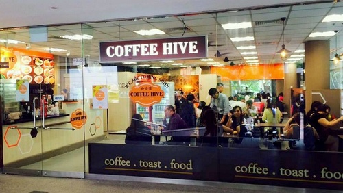 Coffee Hive cafe-restaurant Fuji Xerox Towers Singapore.
