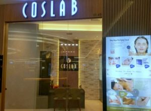 Coslab beauty & body slimming spa Waterway Point Singapore.