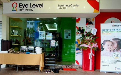 Eye Level learning centre Singapore.