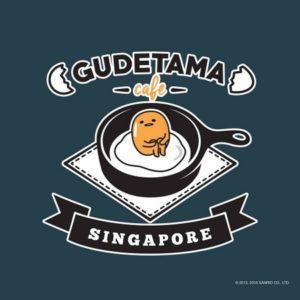 Gudetama Café Suntec City Mall Singapore.