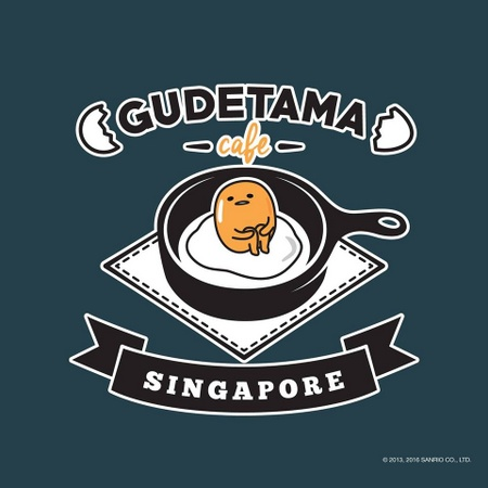 Gudetama Café Suntec City Mall Singapore.
