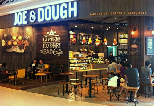 Joe & Dough cafe Leisure Park Kallang Singapore.