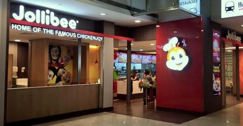 Jollibee fast food restaurant Square 2 Singapore.