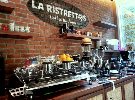 La Ristrettos cafe Square 2 Singapore.