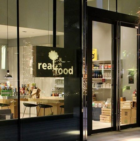 Real Food restaurant South Beach Singapore.