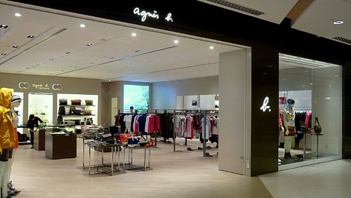 Agnès b. Outlet IMM Singapore.