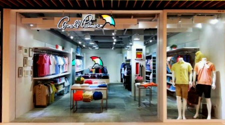 Arnold Palmer store IMM Singapore.