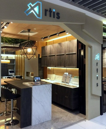 Artis Interior design shop IMM Singapore.