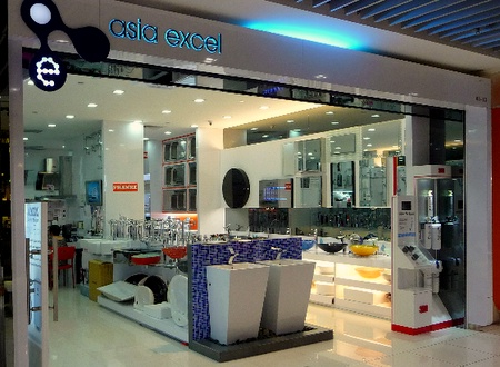 Asia Excel kitchen and bathroom store IMM Singapore.