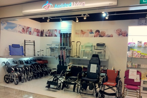 Assisted Living store Novena Square 2 Singapore.