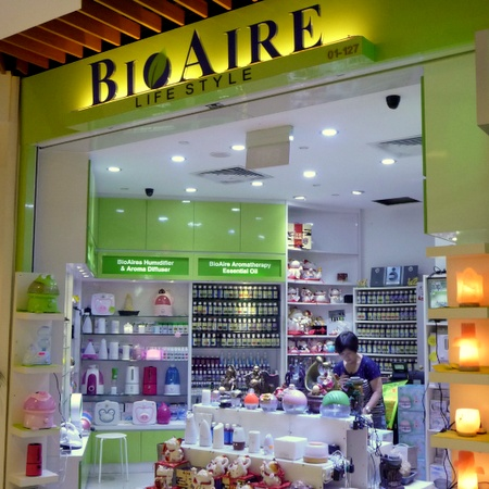 BioAire Lifestyle store IMM Singapore.