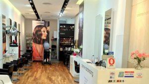 Crème Hairdressing salon City Square Mall Singapore.