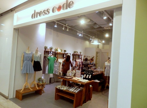 Dress Code clothing store Novena Square 2 Singapore.