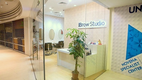 iBrow Studio beauty salon Novena Square 2 Singapore.