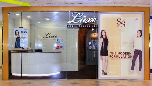 Luxe Scalp Specialist salon Tampines 1 Singapore.